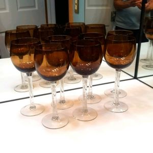 PIER 1 IMPORTS 9.5 INCH WINE GLASSES